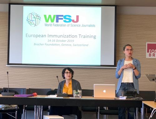 Президент АКСОН выступила соорганизатором воркшопа по коммуникации вакцинации в Женеве